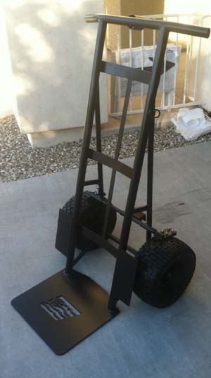 Heavy duty hand trucks and dollies