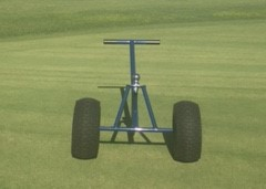 Hand cart for moving trailers