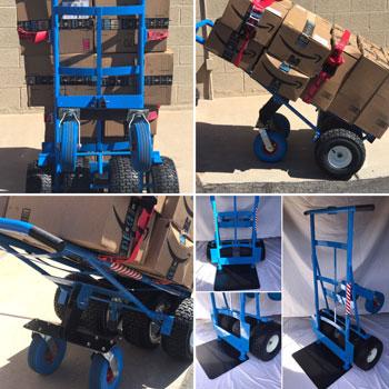 TR 2 Hand Truck Under Load