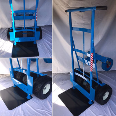 T2/4n1 Hand Truck Side View